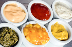 piggable sauces and condiments